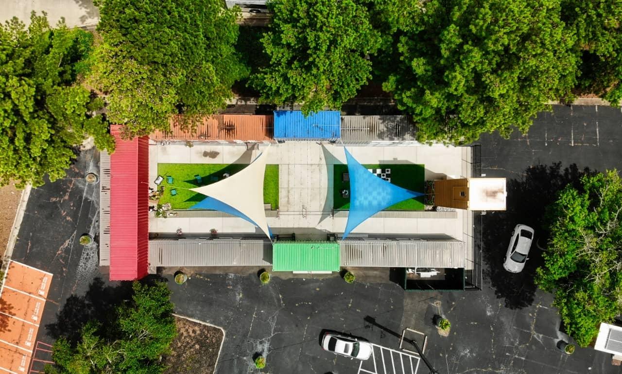 Sea Container Park in Atlanta: Innovation Village