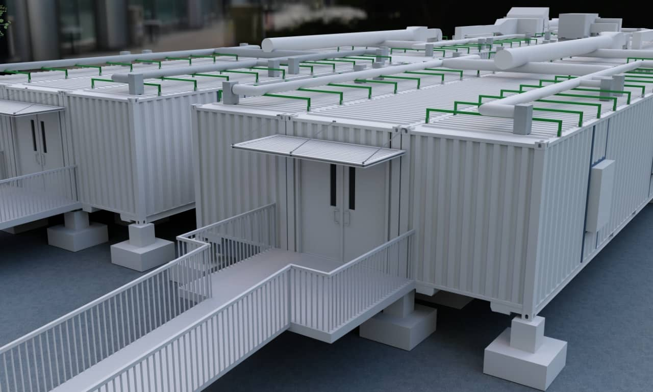 GEMA: Albany's Clinic Built With Shipping Containers