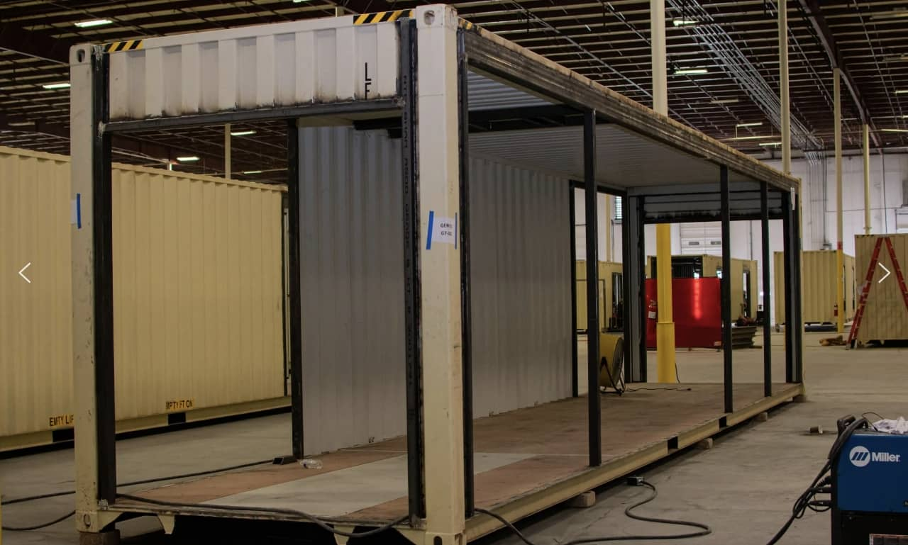 Albany clinic built with shipping containers