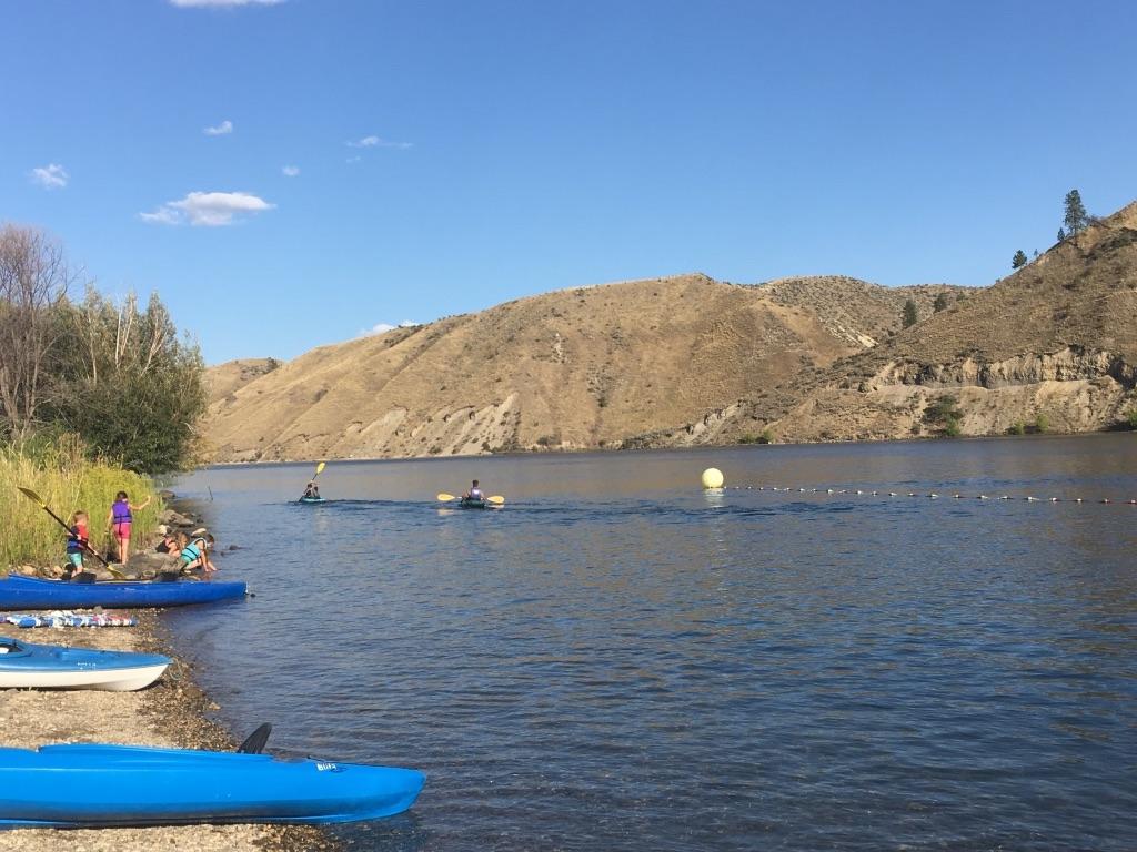 Kayaking on the Columbia