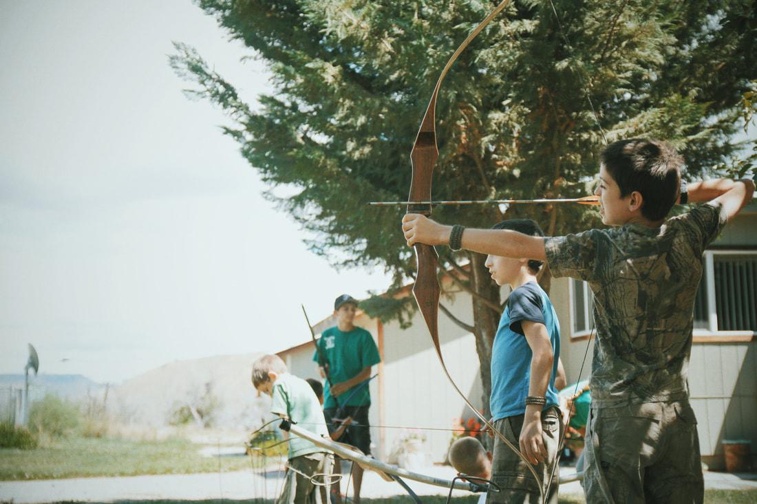 Children at archer
