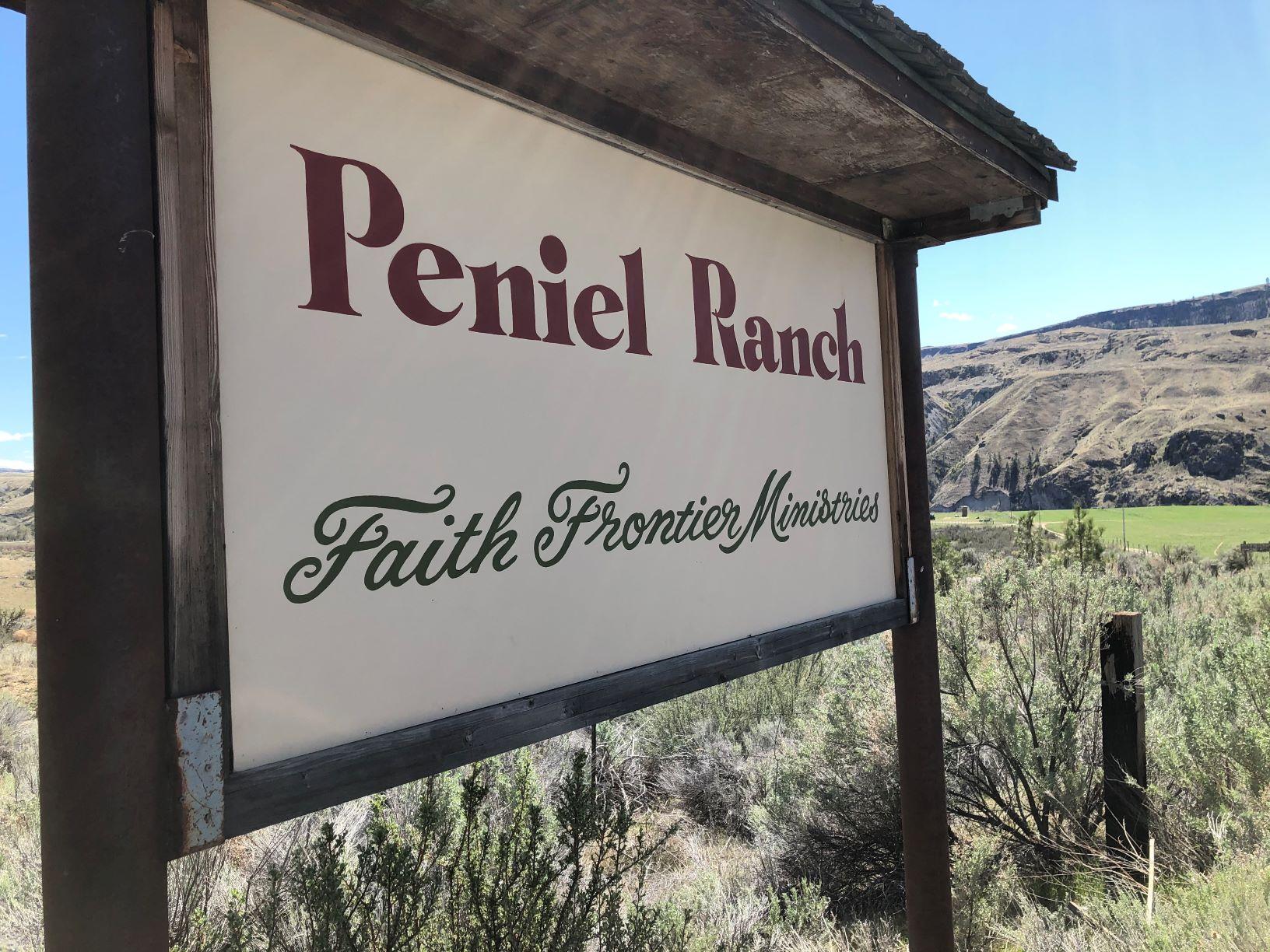 Peniel Ranch sign