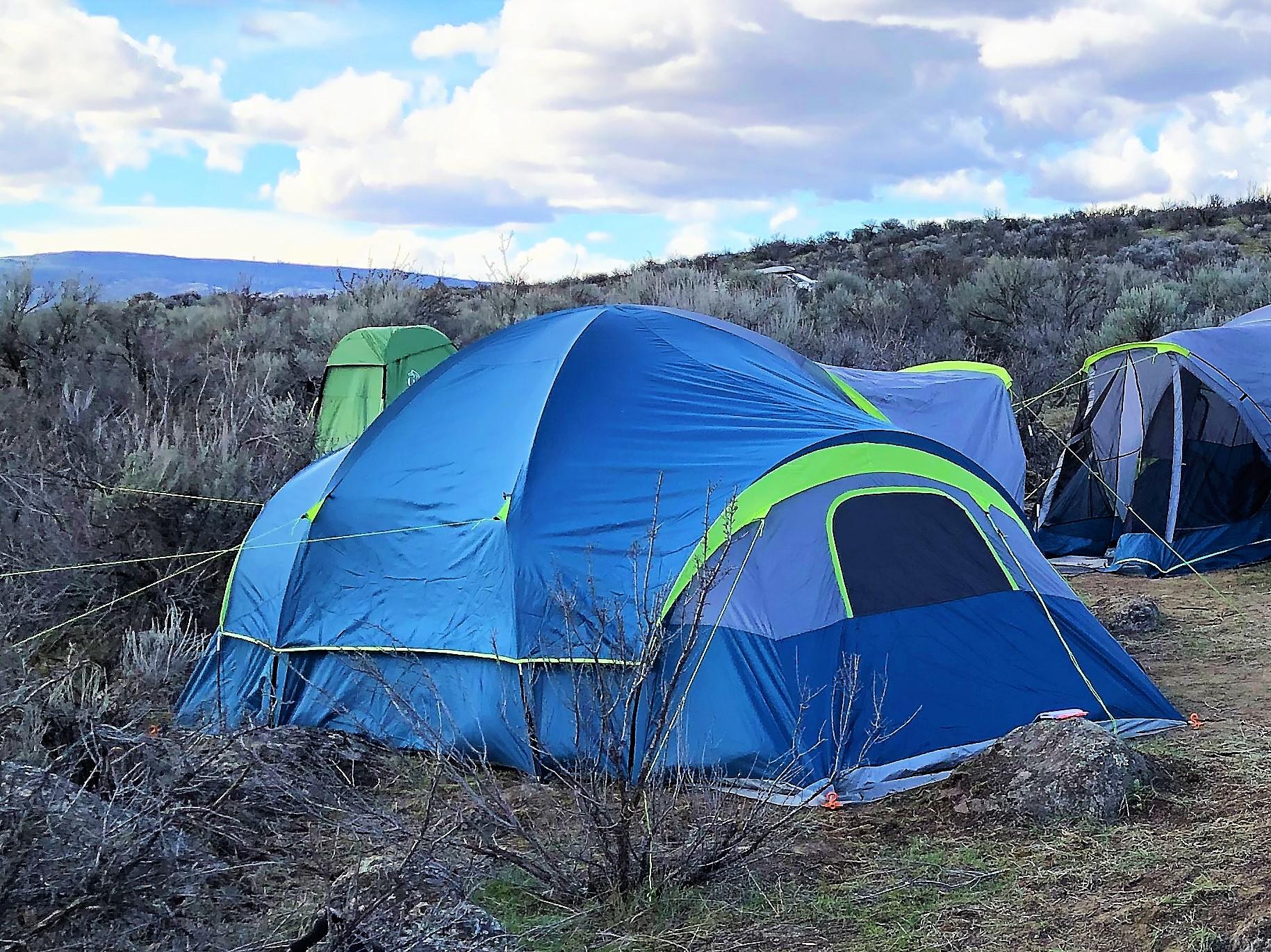 Tenting at Peniel Ranch