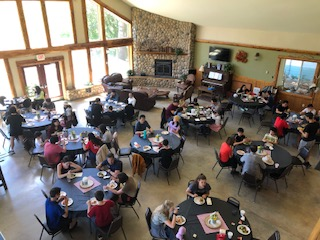 Large group event at Peniel Ranch