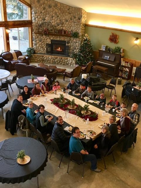 Family reunion at Peniel Ranch