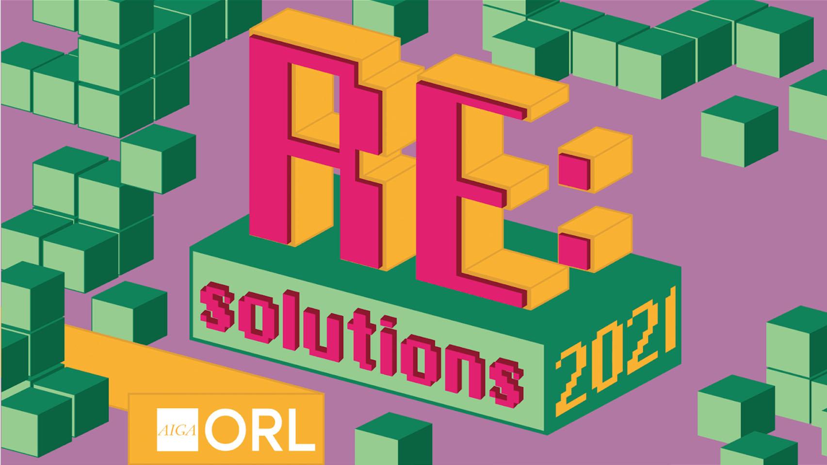 AIGA Orlando Re:Solutions Conference illustration