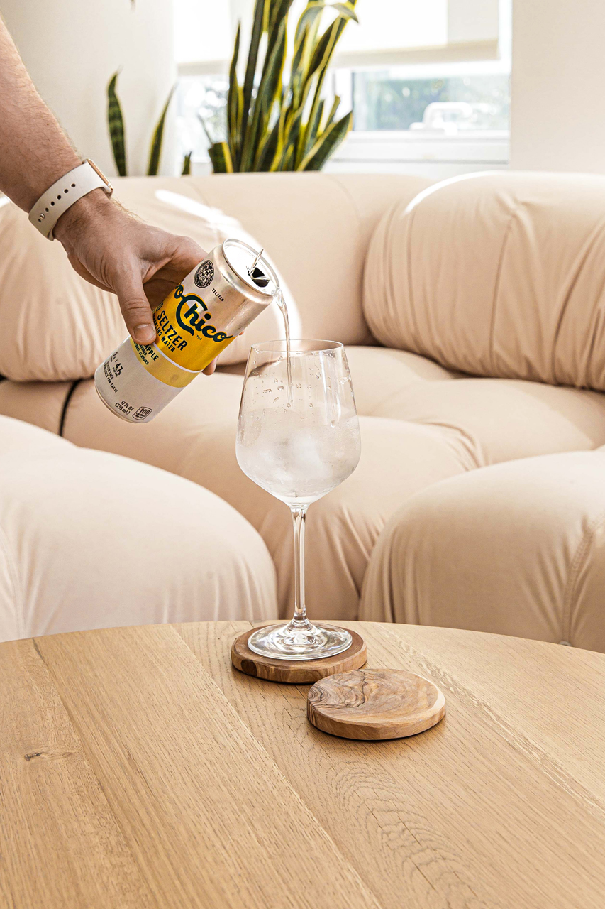 Beverage product photography