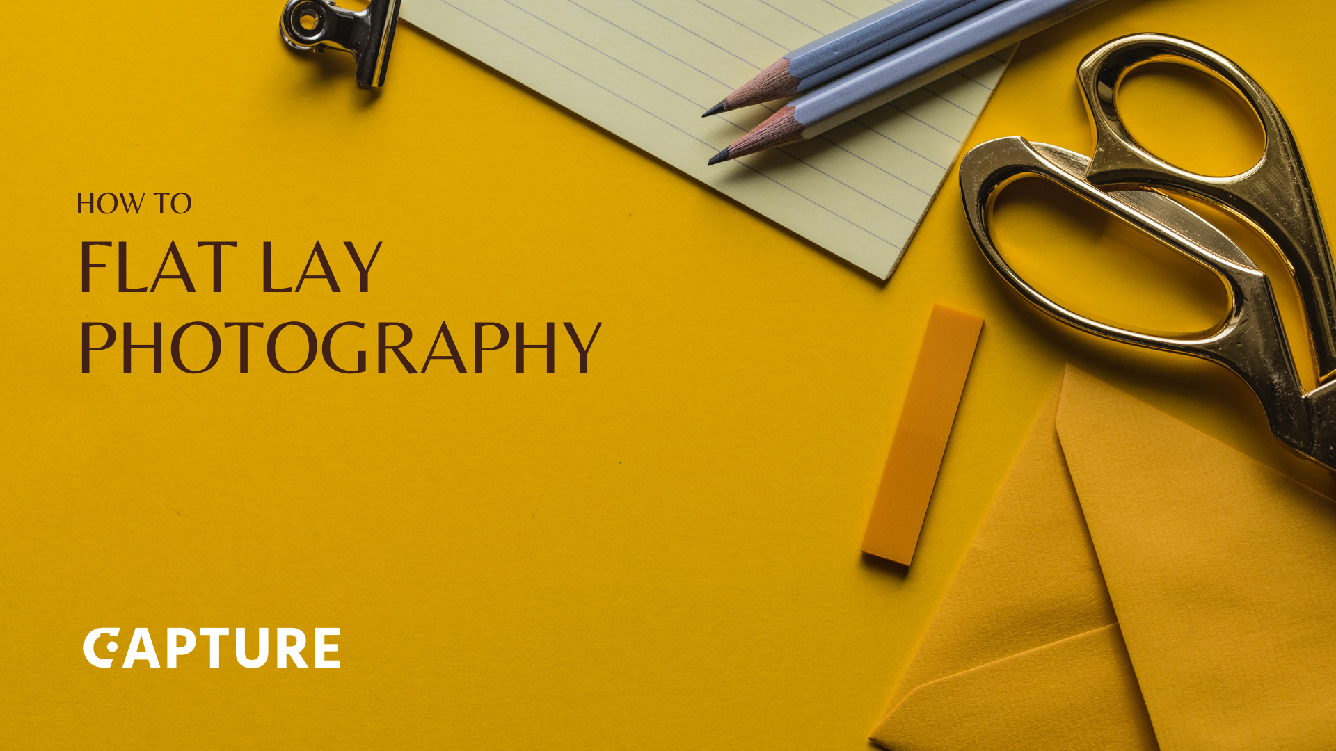 The Flat Lay Photography Guide