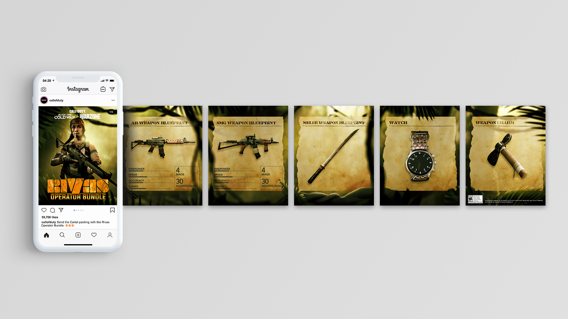 Rivas Operator Bundle instagram design