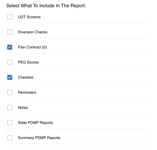 Scriptulate one-click reporting interface