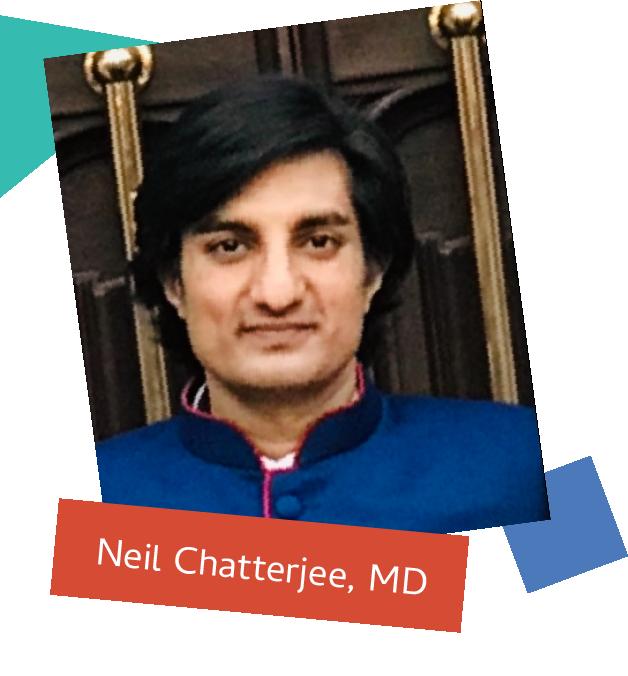 Dr. Neil Chatterjee headshot