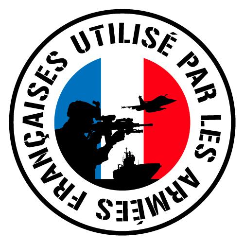 Utilisé par les armées françaises
