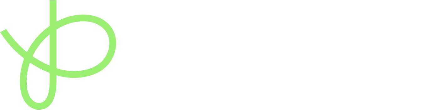 platform55 five logo; a green capital 'P' with the word Platform55 in white alongside it.