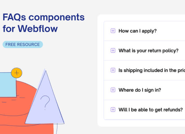 FAQs Component thumbnail