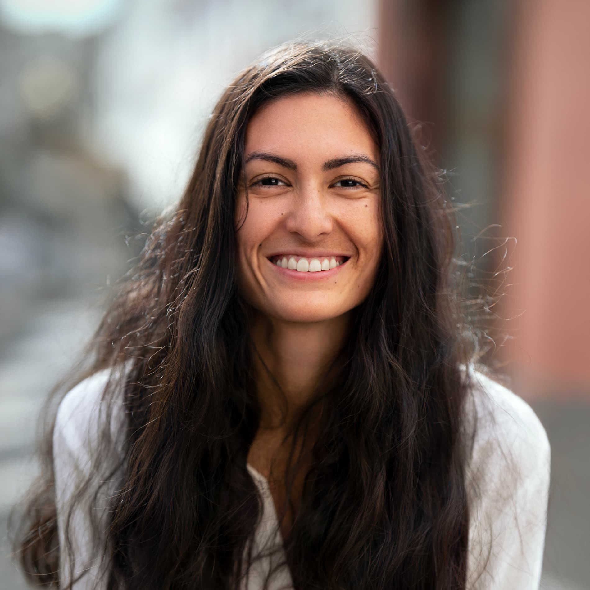 Catherine Schubiger Flores (Switzerland) Smiling