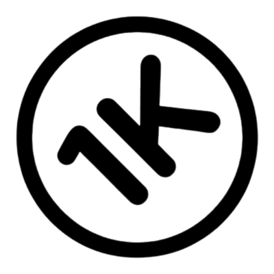Logo de l'incubateur de start ups 1Kubator