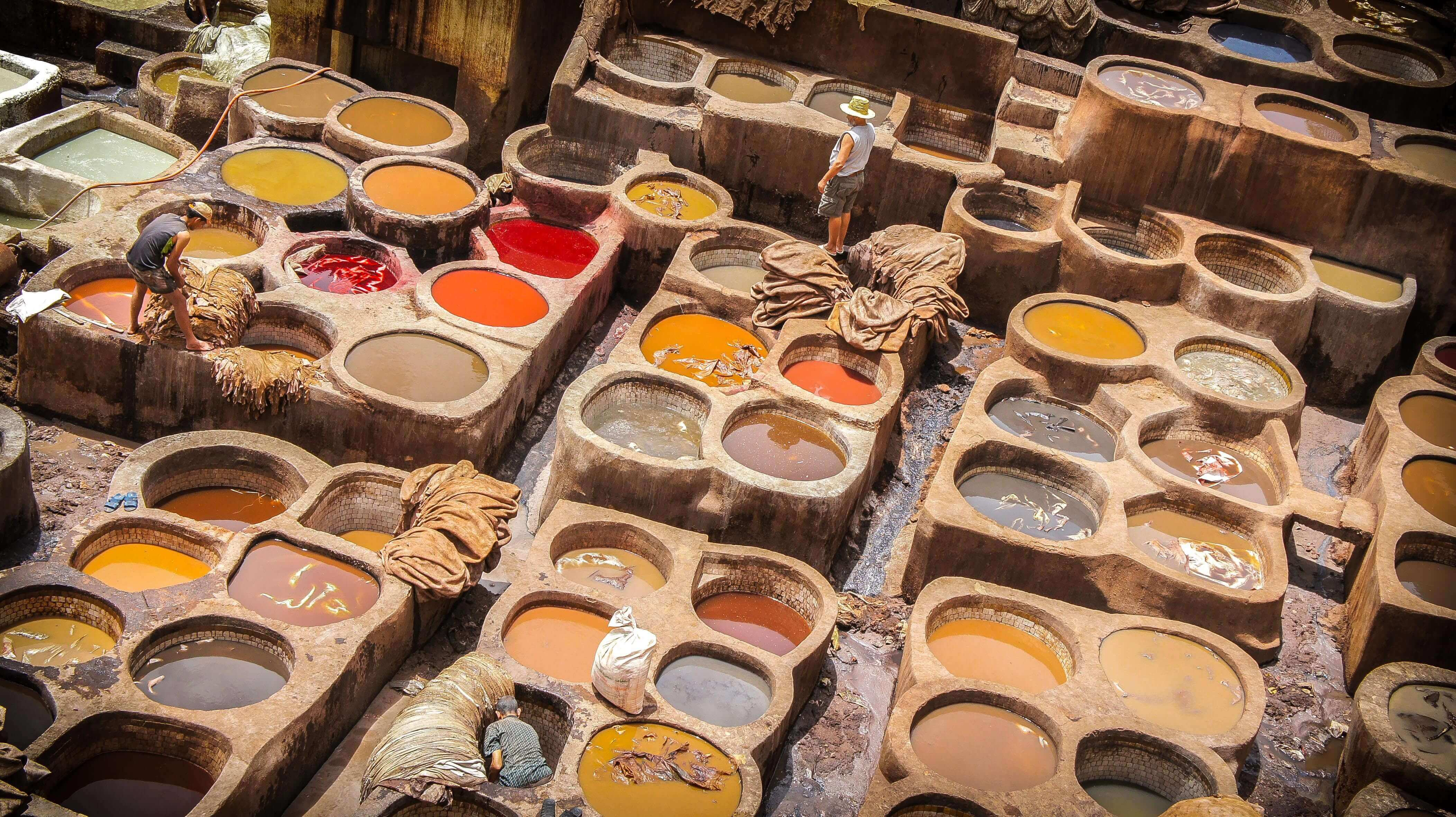 Tannery for leather