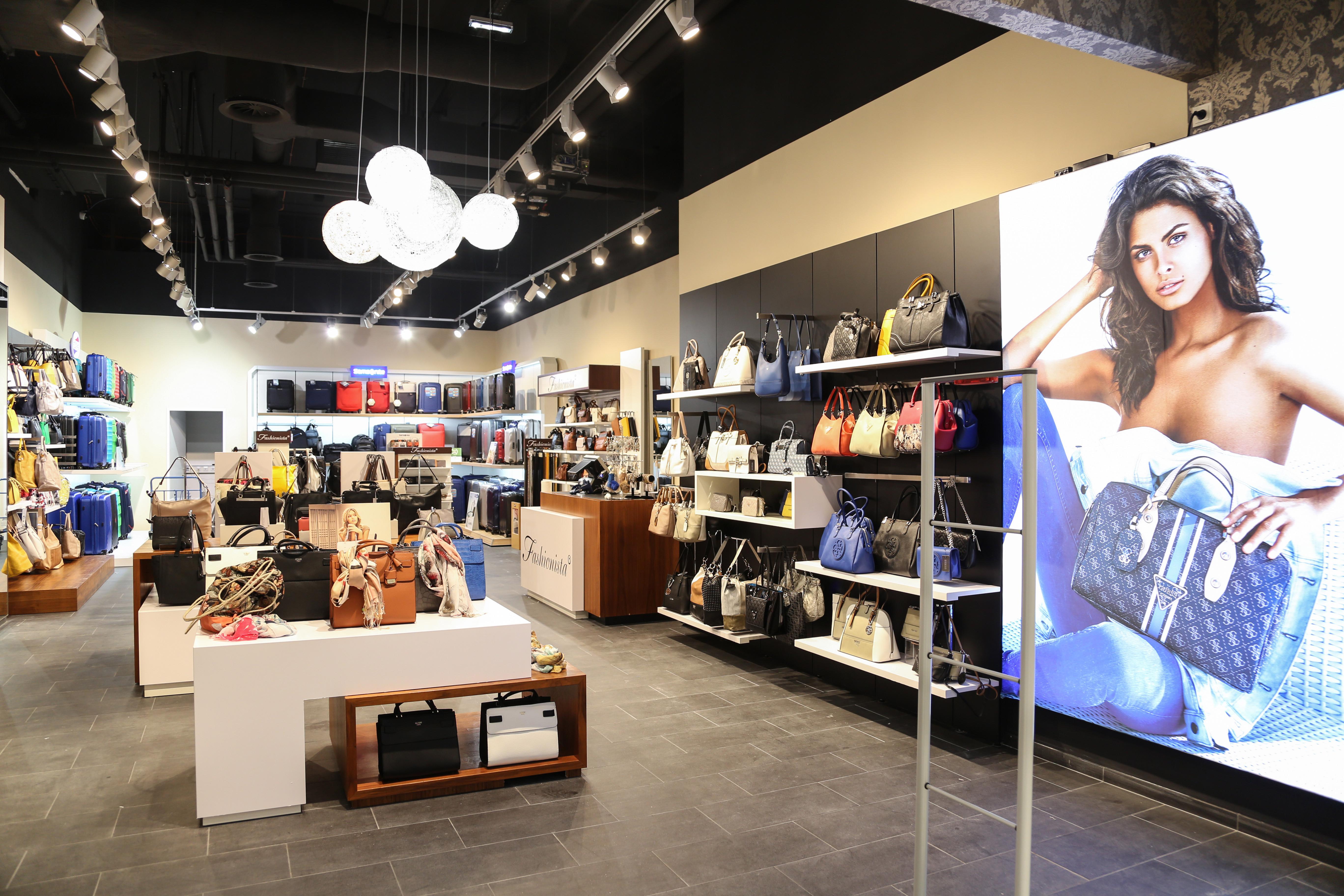 Fashionista Store im Huma Eleven - Eingangsbereich