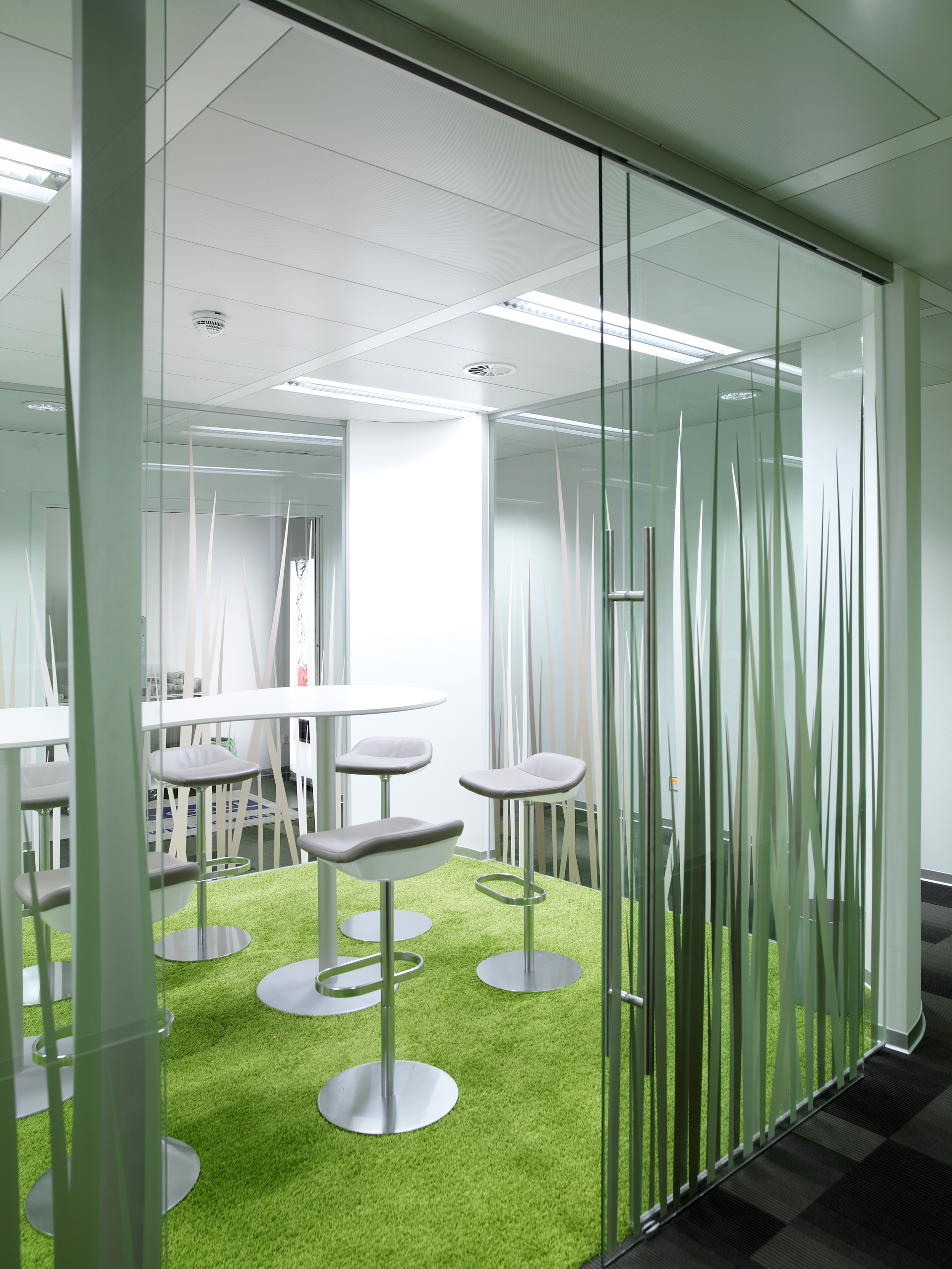 EmpfangsMeetingraum im Büro Nycomed Pharma, designed von Studio Thörnblom