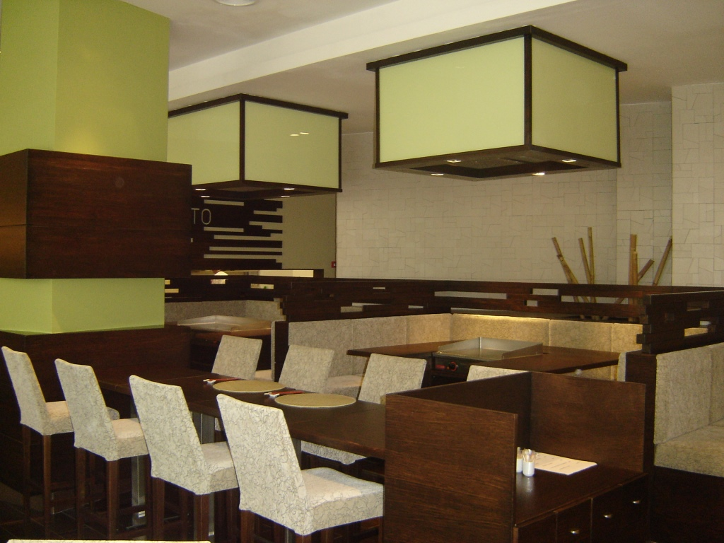 Restaurant Yamato, designed von Studio Thörnblom