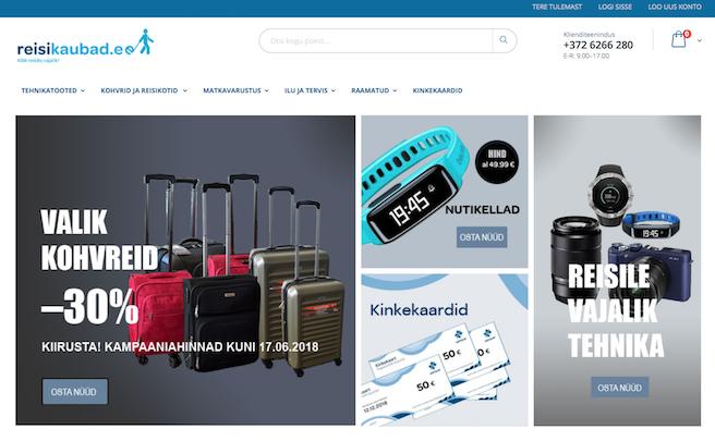 Estravel avas reisikaupade e-poe ja astus E-kaubanduse Liitu