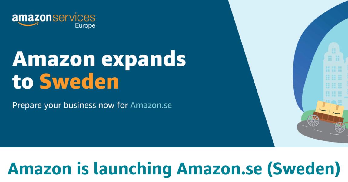 Amazon laienes Rootsi!