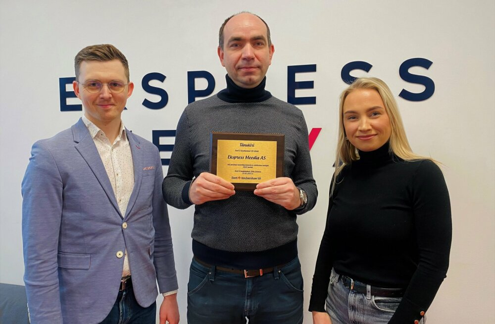 Ekspress Meedia sai tunnustuse Eesti E-kaubanduse Liidult