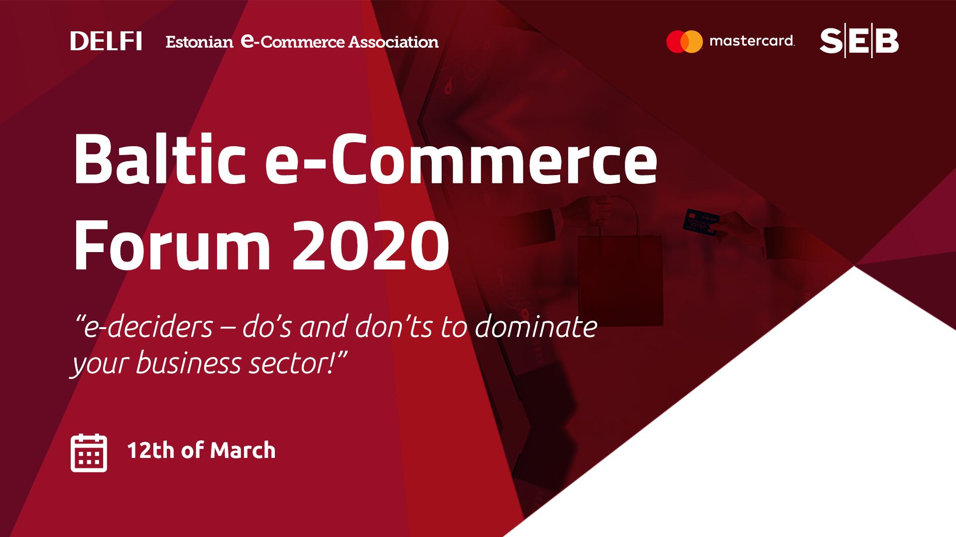 Baltic e-Commerce Forum 2020