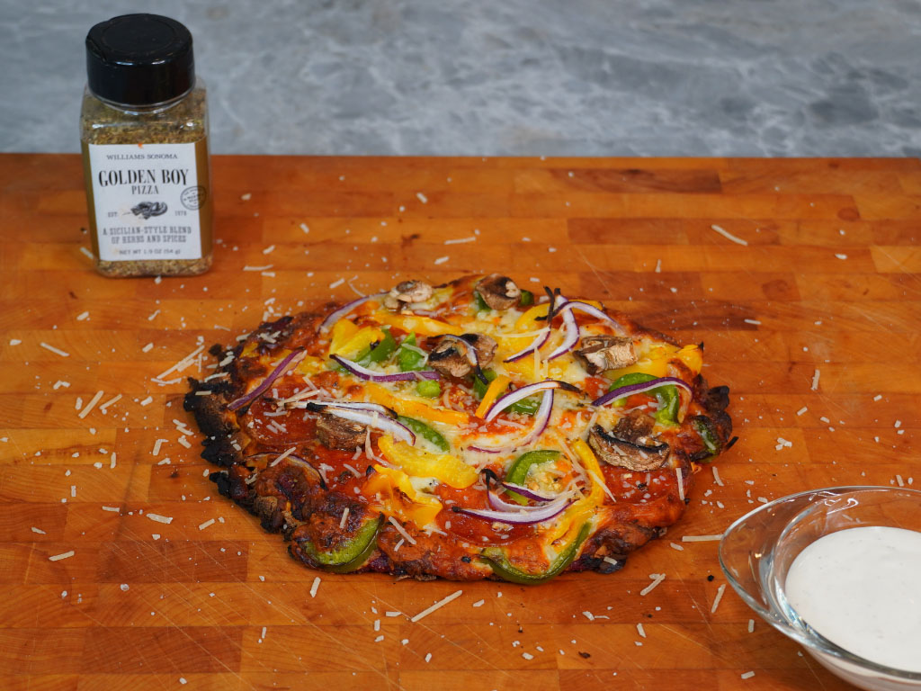 EASY Low Carb Keto PIZZA!