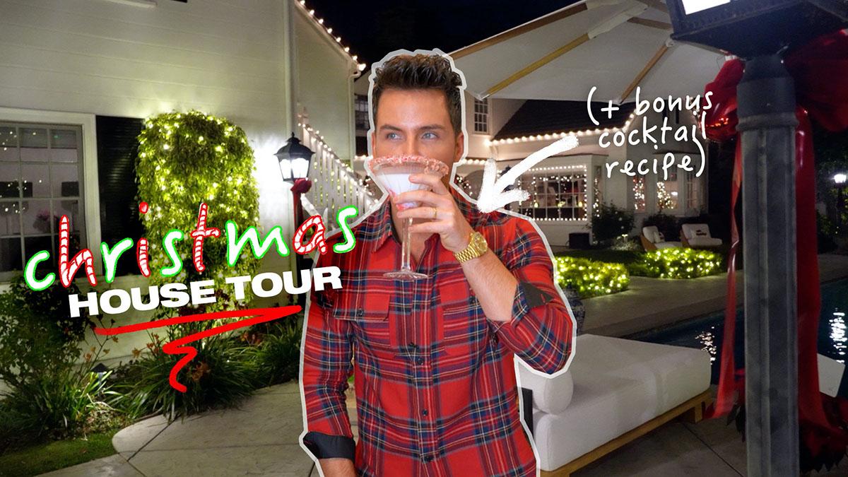 The Flagg/Boyd Christmas House Tour! (& A Bonus Cocktail Recipe!)