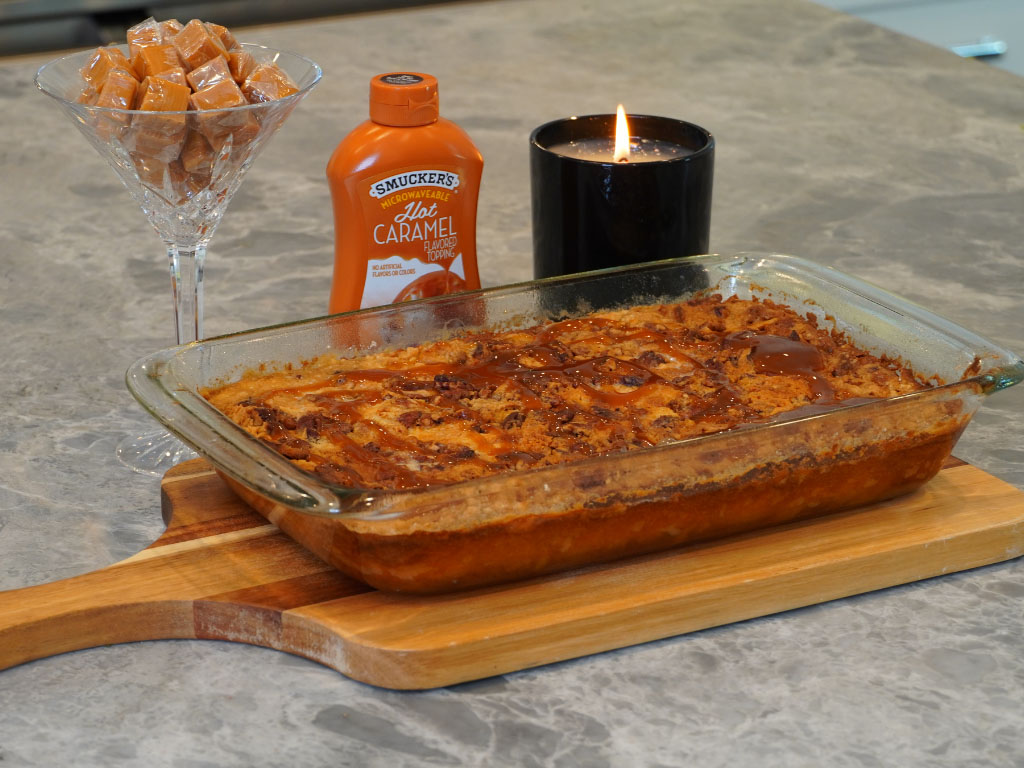 We Make Tiktok's Pumpkin Dump Cake Recipe (VERY EASY)