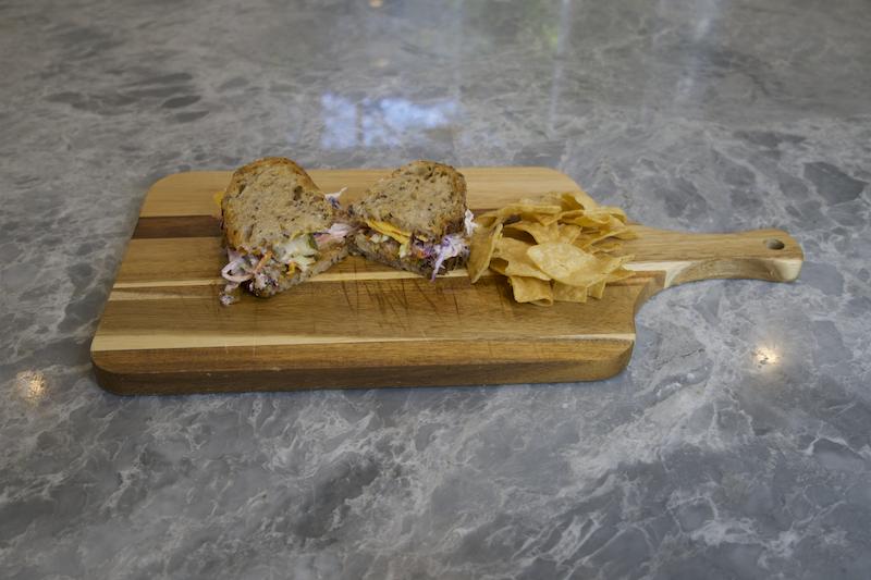 Easy Vegan BBQ Chickpea Sandwich