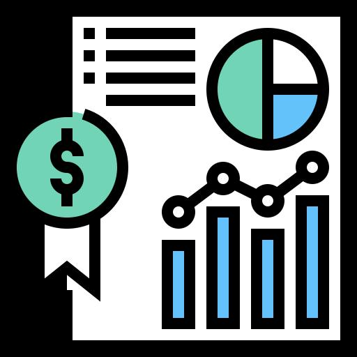 Financial health icon