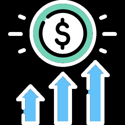 New revenue streams icon