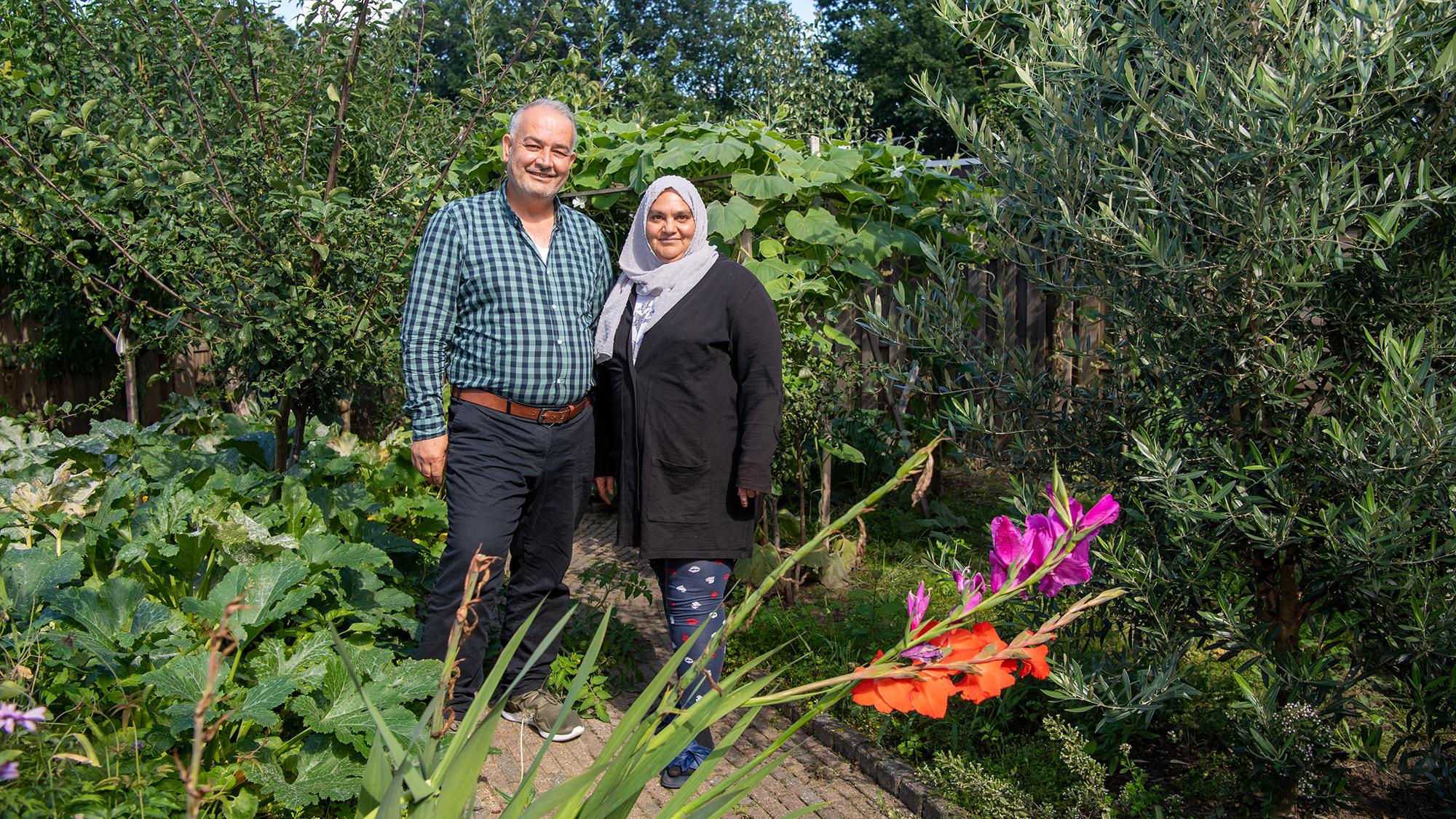 Mustafa en zijn vrouw Ghada Tarsha Kurdi