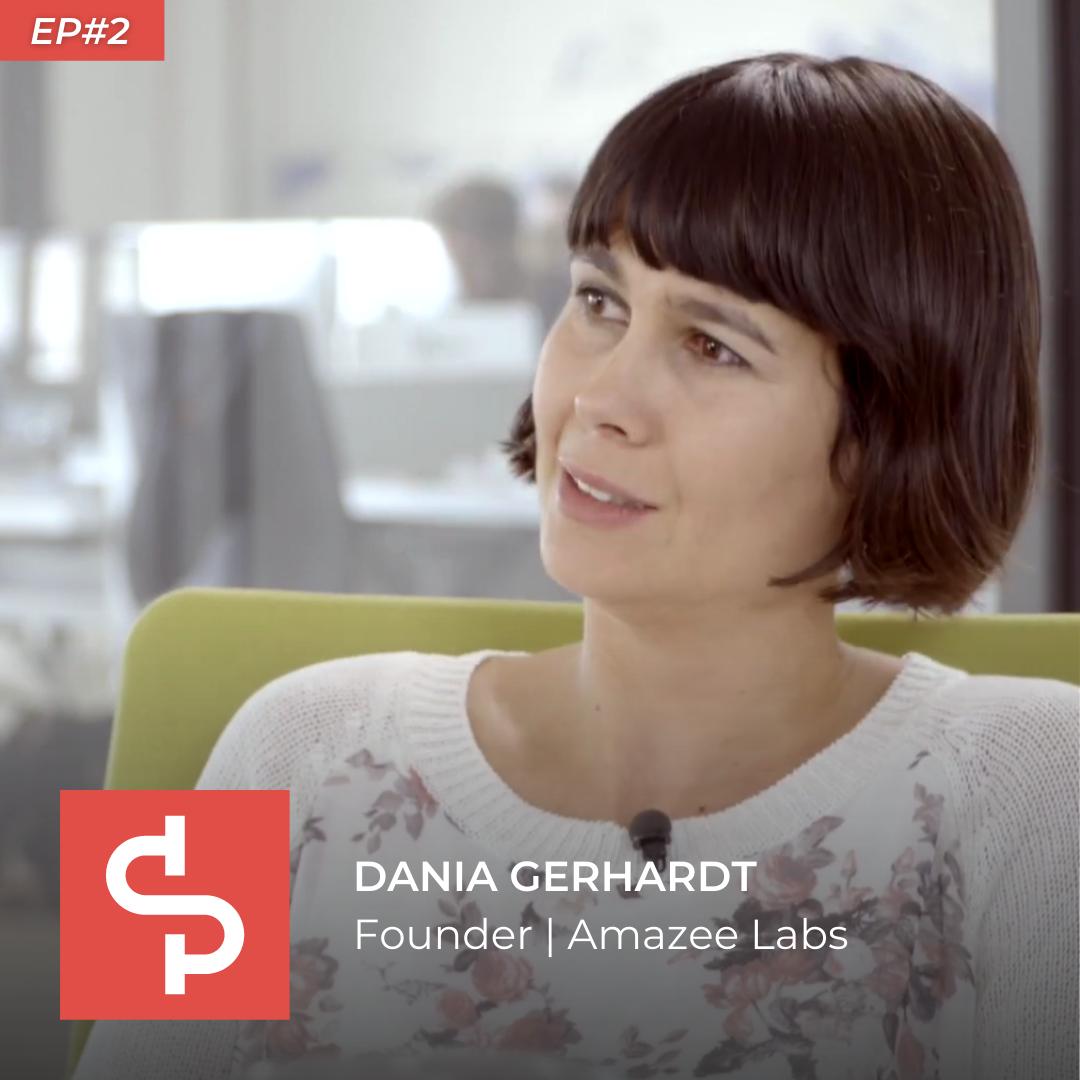 Dania Gerhardt, founder Amazee Labs, Swisspreneur Podcast