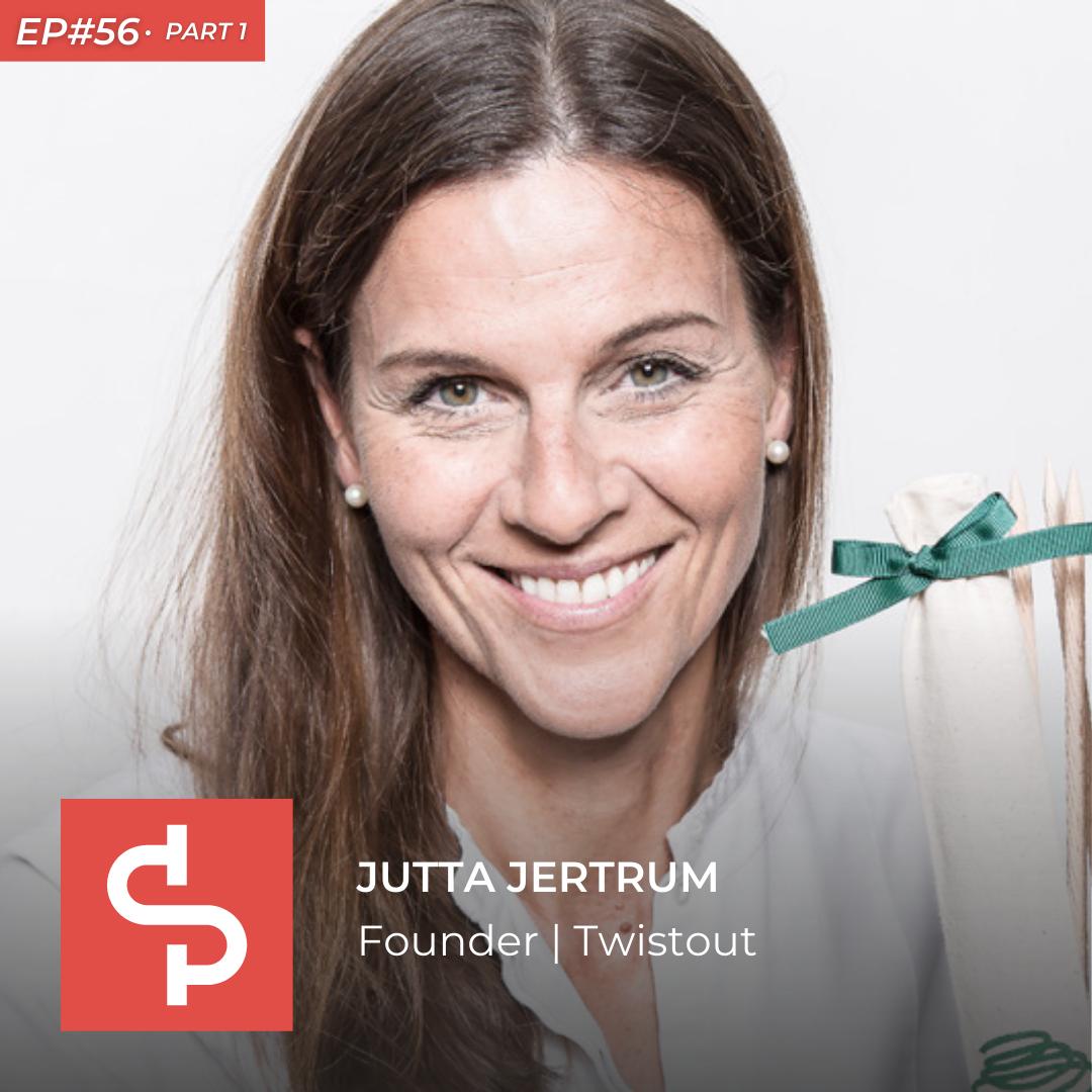 Jutta Jertrum, founder Twistout, Swisspreneur Podcast