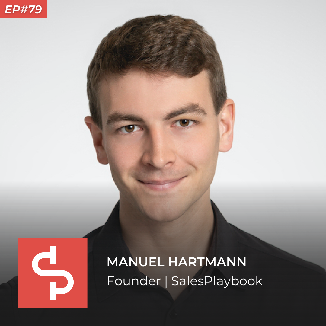 Manuel Hartmann, founder SalesPlaybook, Swisspreneur Podcast
