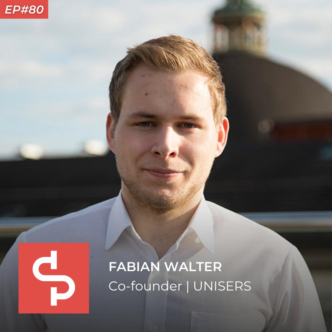 Fabian Walter, co-founder UNISERS