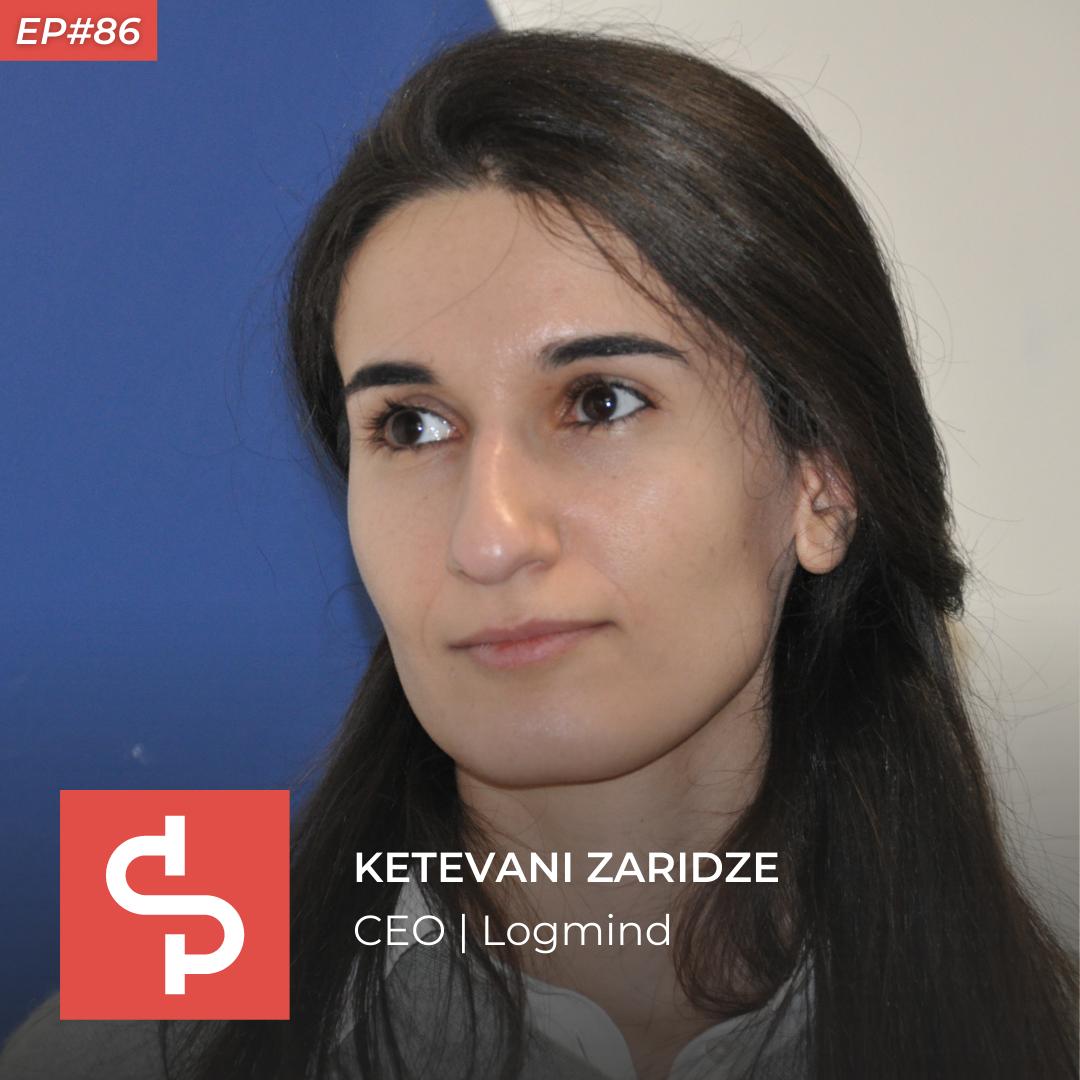 Ketevani Zaridze, CEO Logmind, Swisspreneur Podcast