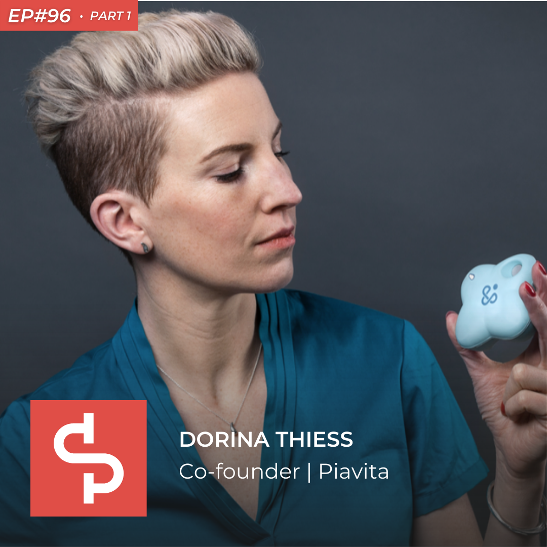 Dorina Thiess, co-founder Piavita, Swisspreneur Podcast