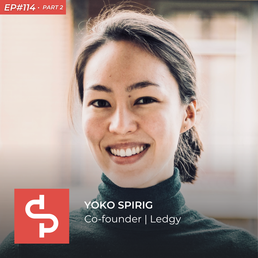 Yoko Spirig, co-founder Ledgy, Swisspreneur Podcast