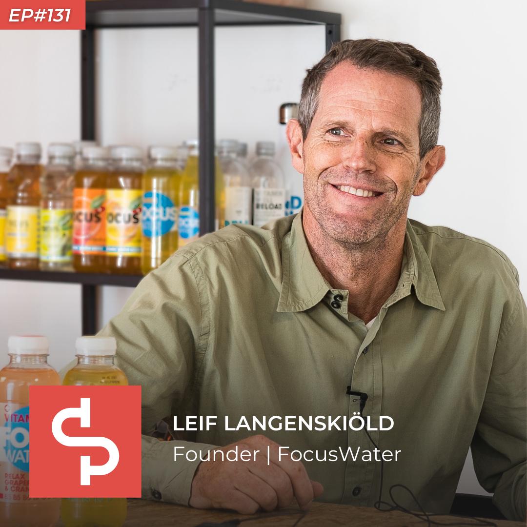 Leif Langenskiöld, founder fluidfocus, Swisspreneur Podcast