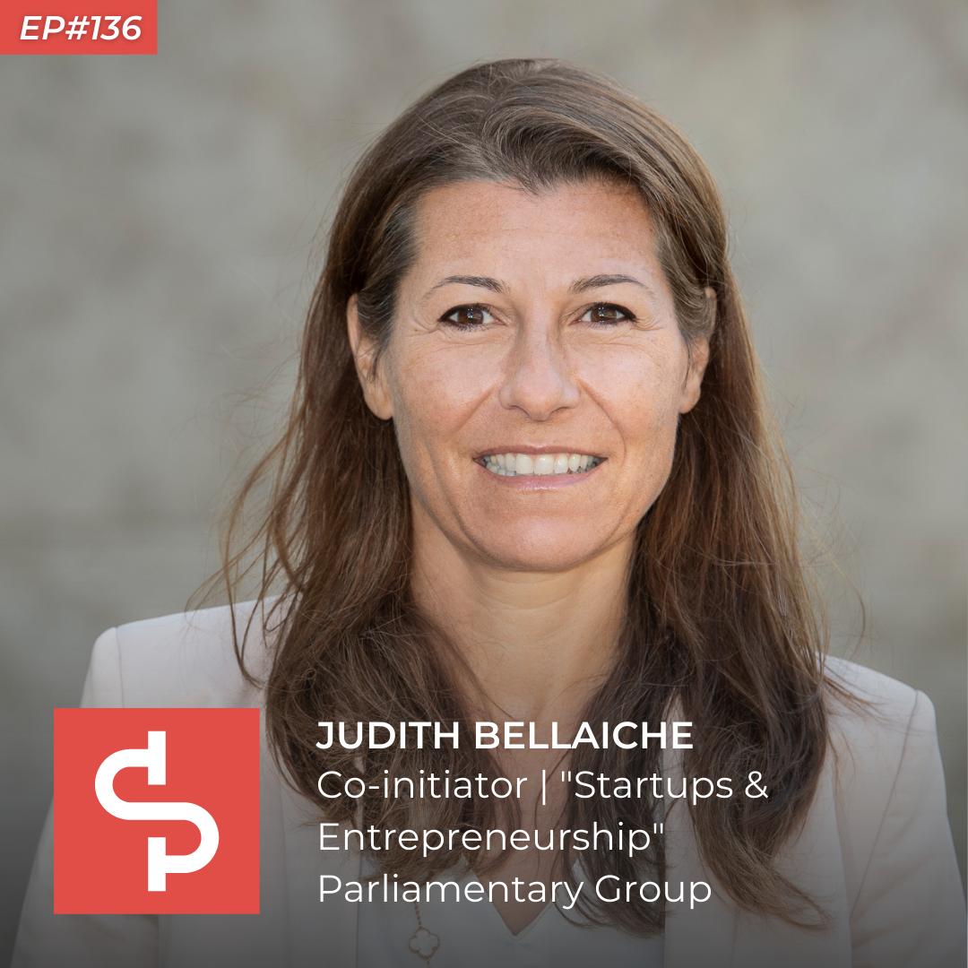 Judith Bellaiche, member of parliament, Swisspreneur Show