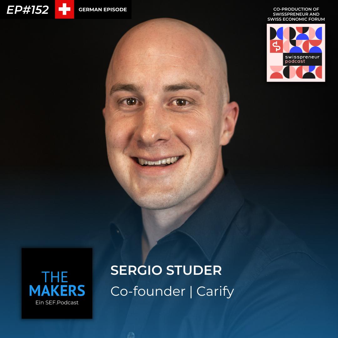 Sergio Studer, co-founder Carify, Swisspreneur Podcast