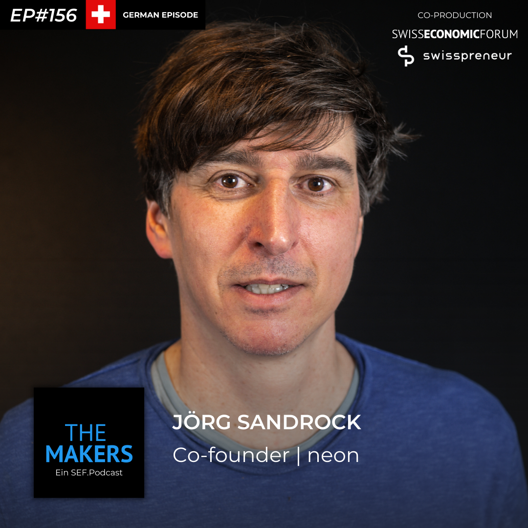 Jörg Sandrock, co-founder neon, Swisspreneur Podcast