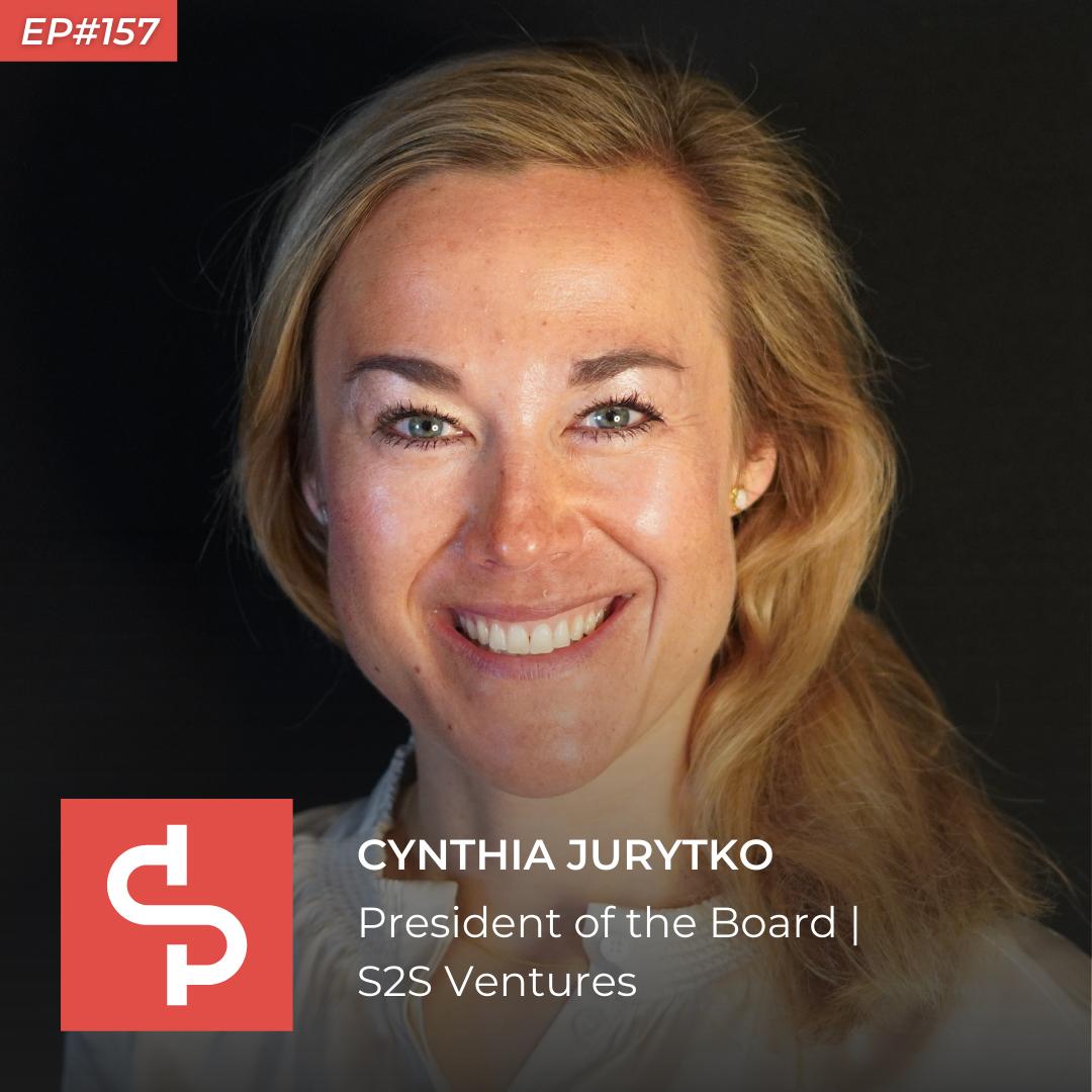 Cynthia Jurytko, president of the board S2S Ventures, Swisspreneur Podcast
