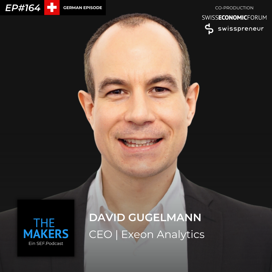 David Gugelmann, co-founder Exeon Analytics, Swisspreneur Podcast