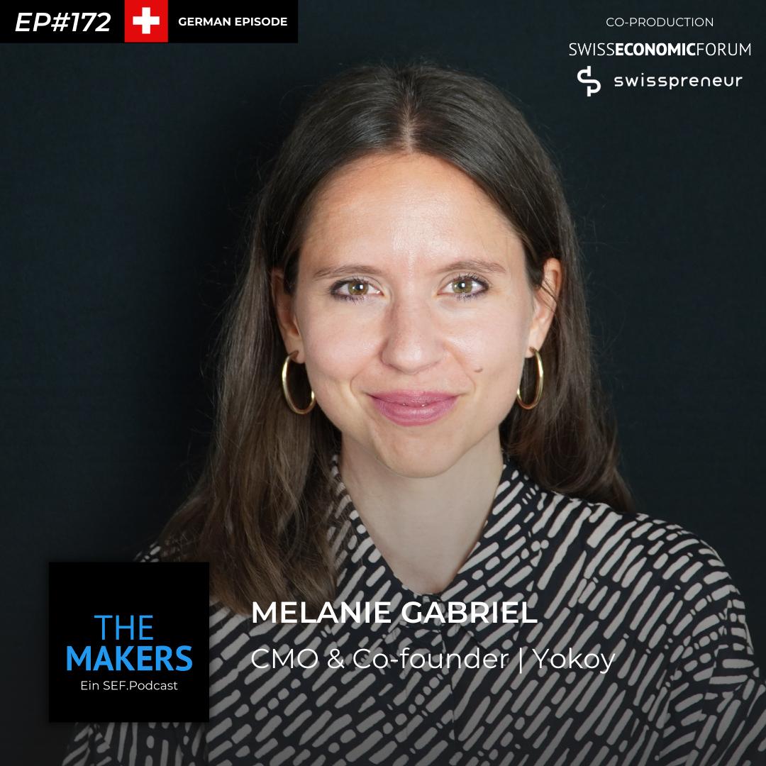 Melanie Gabriel, co-founder yokoy, Swisspreneur Podcast