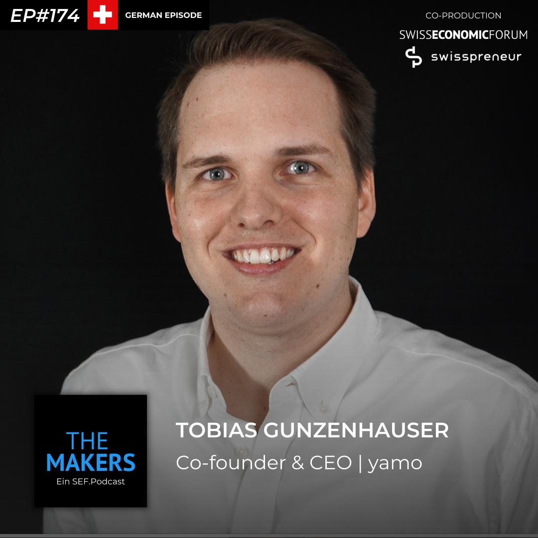 Tobias Gunzenhauser, co-founder yamo, Swisspreneur Podcast